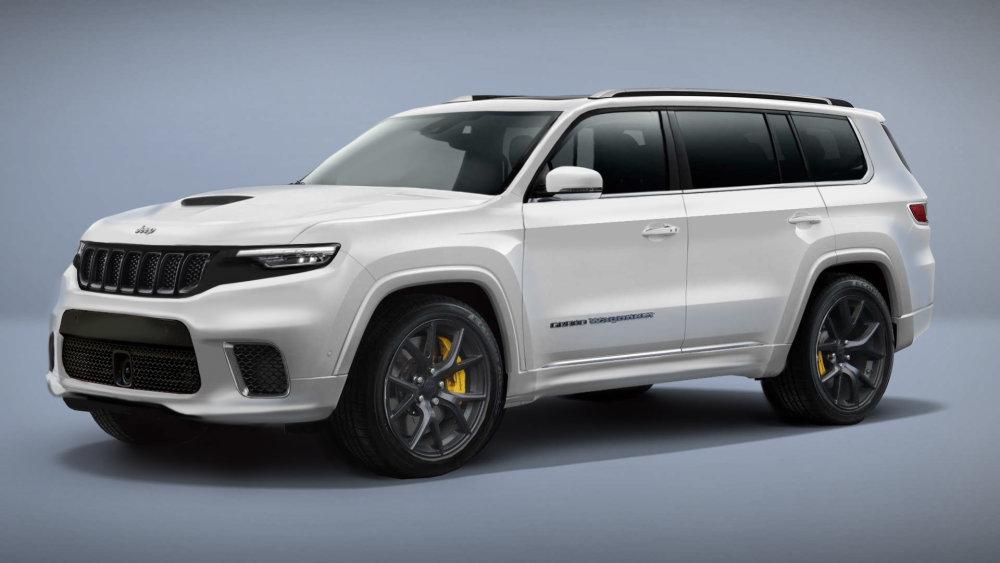Dreaming of the Jeep Grand Wagoneer Trackhawk - JK-Forum