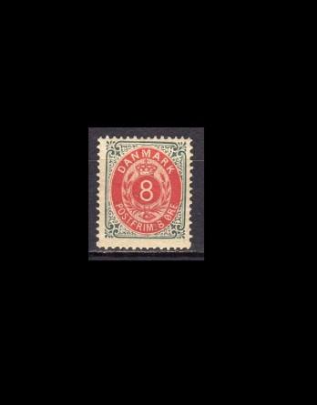 2-farvet mærker, AFA 22-31, Postfrisk/ubrugt
