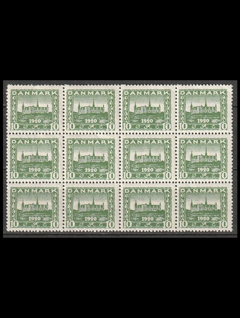 DK AFA 115 postfrisk 12-blok