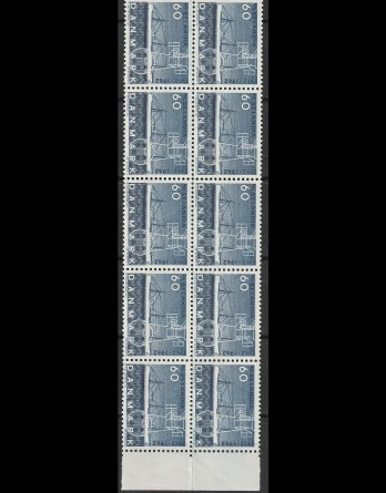 400-599, Postfrisk/ubrugt