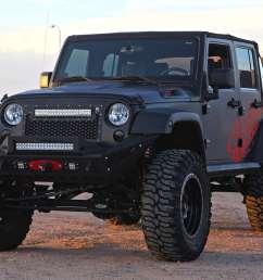 rigid 2007 2015 jeep jk wrangler grille 20 e series [ 1200 x 900 Pixel ]