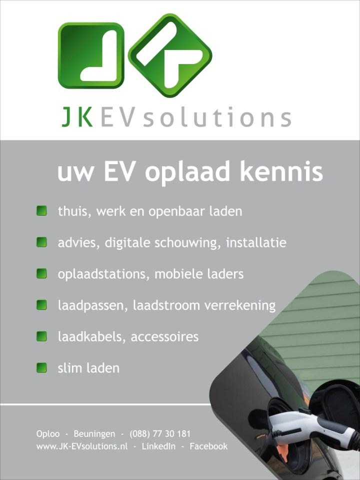 "JK EV solutions, uw EV oplaad kennis!"""