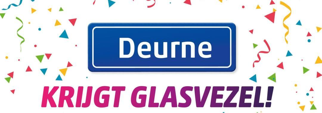 Deurne krijgt Glasvezel
