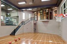 Indoor Home Basketball Court Gym