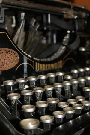 Classic Underwood typewriter
