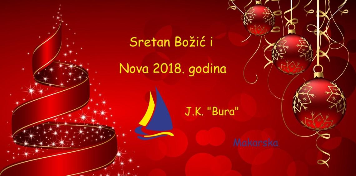 Sretan Božić i Nova 2018. godina