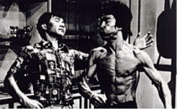 Wan Kam Leung & Bruce Lee In A Screen Test For Game of Death