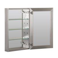 "Foremost 19"" x 30"" Aluminum Medicine Cabinet - Brushed ..."