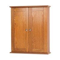 """Foremost 21"""" Worthington Bathroom Wall Cabinet - Oak ..."""