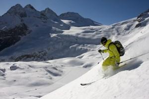 Ski school and rental telemark skitouring freeride