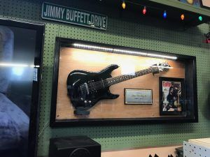This Tribute Display for my Son Josh Jr is in Central Coast Music in Morro Bay