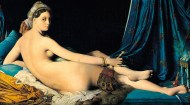Grand Odalisque (1814), by Jean Auguste Dominique Ingres