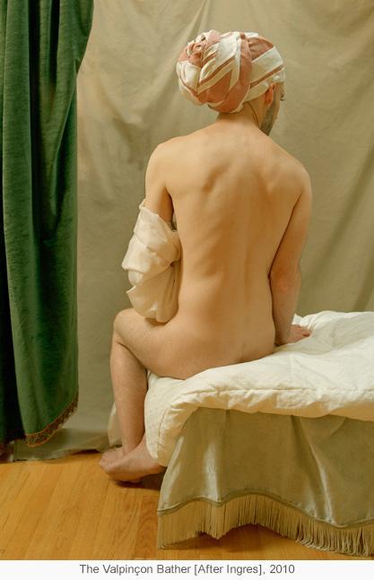 The Valpinçon Bather [After Ingres], 2010