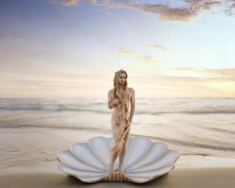 Birth of Venus [after Botticelli], 2009