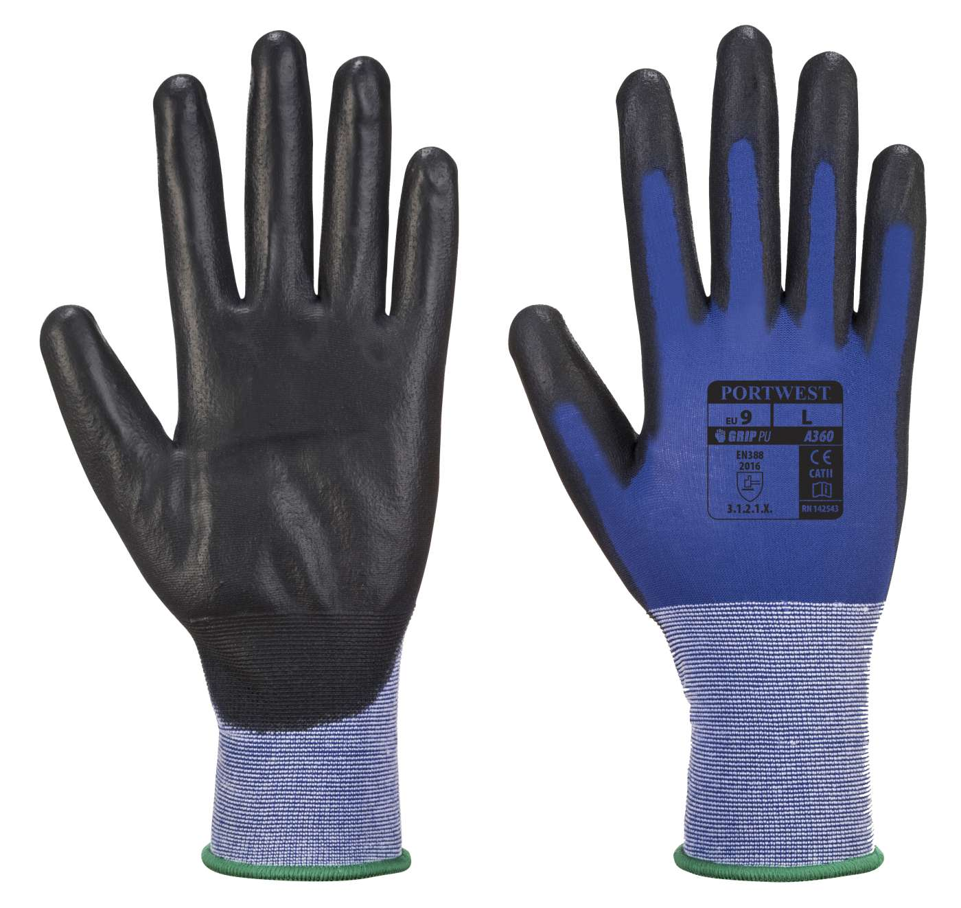 Portwest Grip Ultra Thin PU Senti  Flex Glove A360