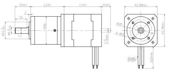 geared stepper motor nema 17 High Precision Electrical