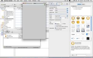 Edition de l'interface