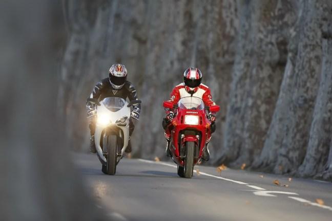 Ducati 848 Ducati 851 Impressionen