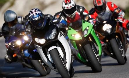 Honda CBR 1000 RR Fireblade Kawasaki ZX-10R Suzuki GSX-R 1000 Yamaha YZF-R1
