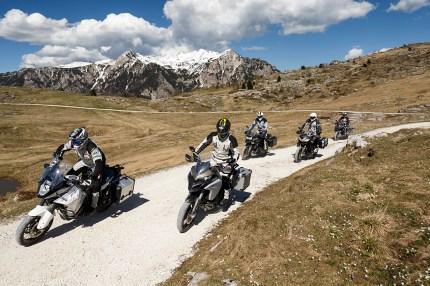Aprilia Caponord Rally, BMW R 1200 GS, Ducati Multistrada 1200 Enduro, KTM Super Adventure 1290, Triumph Tiger Explorer XC A, Reiseenduro VT, MRD Heft 12/16, Lessinia, Venetien, Italien