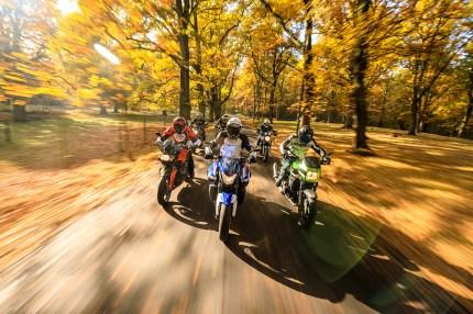 BMW K 1300 R, Honda CB 1300, Kawasaki ZRX 1200 R, Suzuki Bandit 1250, Suzuki Hayabusa, Yamaha XJR 1300, Abschied von großen Vierzyinder, MRD Heft 24/16