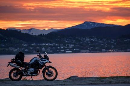 BMW F 850 GS, Reiseenduro Vergleich, MRD Heft 18/18, Schweden, Norwegen