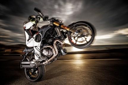Ducati Monster 1200 S, PS 3er Impressionen Ducati, Heft 3/17, Südfrankreich