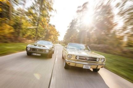 Ford Mustang 1966-1972, Motor Klassik