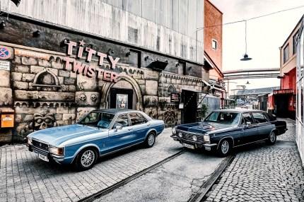 Ford Granada, Opel Diplomat, Motor Klassik