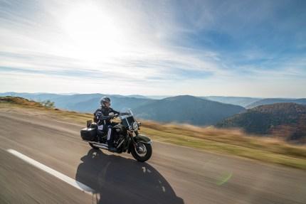 Harley-Davidson Heritage Classic, Herbstausfahrt 2018, MRD Heft 24/18, Vogesen, Frankreich