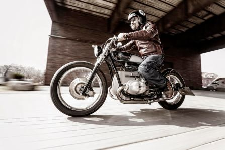 Kington Custom BMW Bobber, Fuel Heft 2/15, Gelsenkirchen