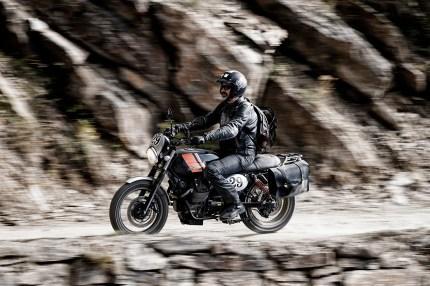Moto Guzzi V7 Scrambler, Scrambler Impressionen, MRD Heft 21/15, Susatal, Italien