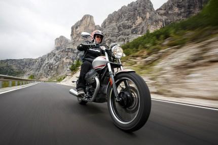 Moto Guzzi V9 Roamer, Alpenmaster 2016, MRD, Dolomiten, Italien