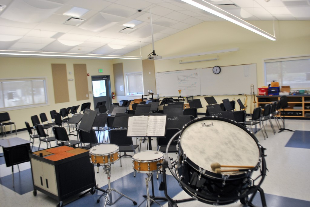 School music room design