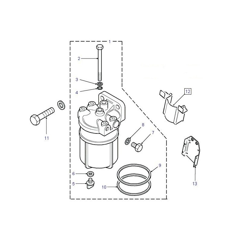 Protection filtre à gasoil Defender Discovery 2 TD5
