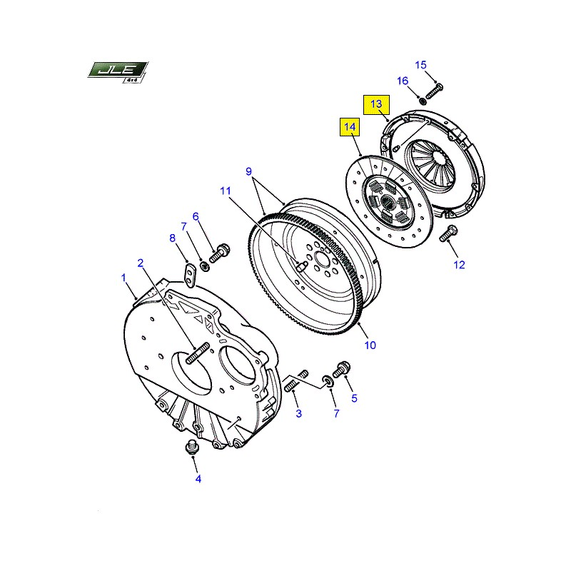 Kit d'embrayage OEM Defender Discovery Range Rover Classic