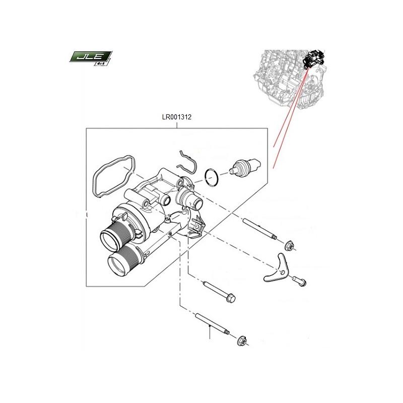 Thermostat OEM Discovery Sport Freelander 2 Range Rover