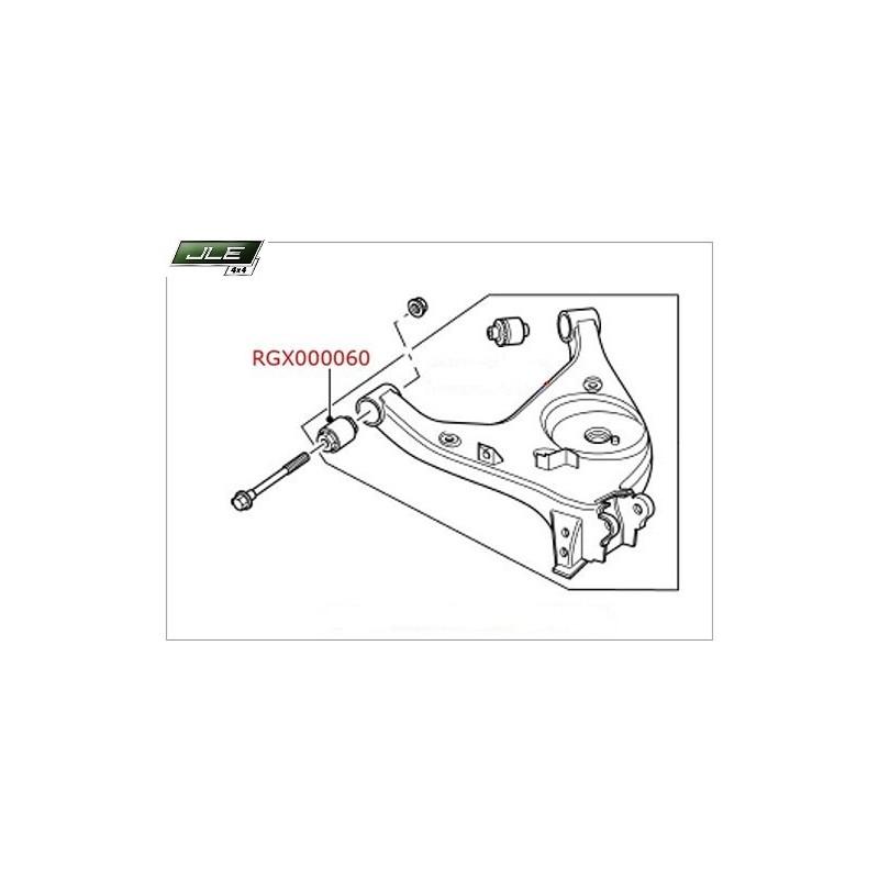 Silentbloc de suspension arrière Range Rover L322