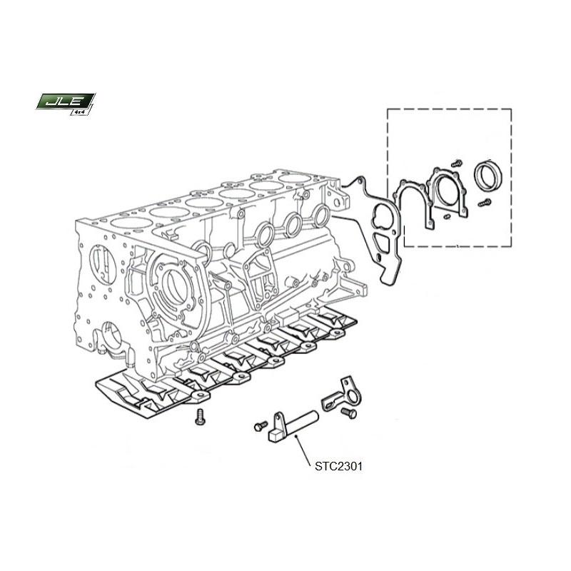 Capteur OEM position vilebrequin Range Rover P38 turbo diesel