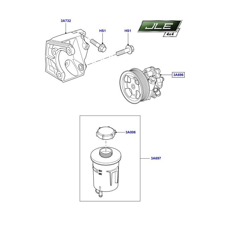 Pompe de direction assistée OEM Discovery 4 Range Rover Sport