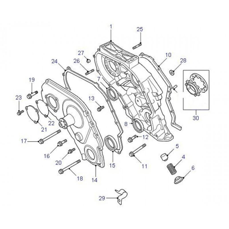 Pignons OEM pompe à huile Defender Discovery Range Rover