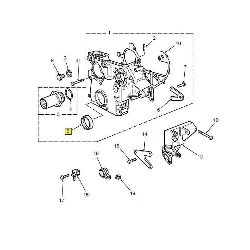 Joint spi OEM arbre à cames Range Rover P38