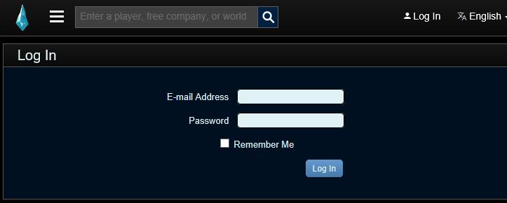 fflogs 登録方法