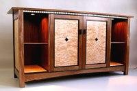 custom stereo cabinets