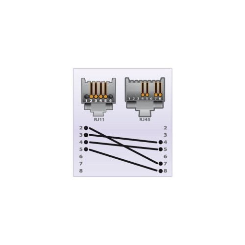 small resolution of rj45 to rj11 cable diagram rj45 to rj11 cable wiring diagram 6 pin rj11 cable wiring