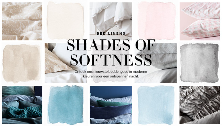 H&M shades of softness