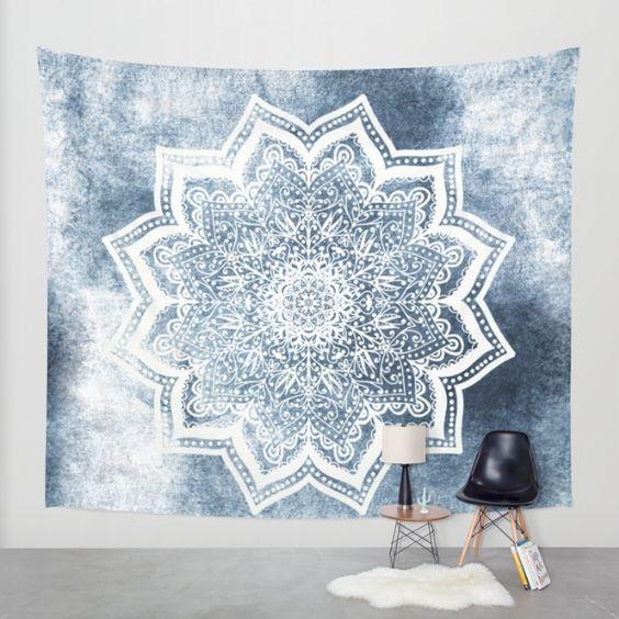 Mandala's in het interieur