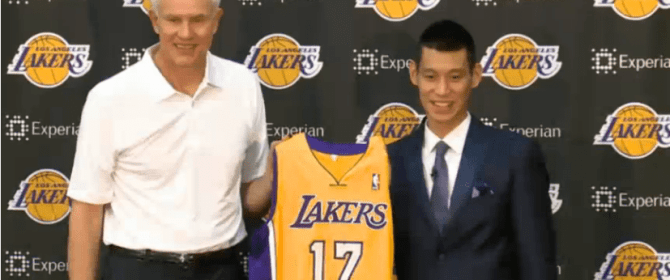 Lakers Introduces Jeremy Lin Full Interview