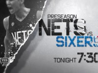 Preseason4 Brooklyn Nets vs Philadelphia 76ers