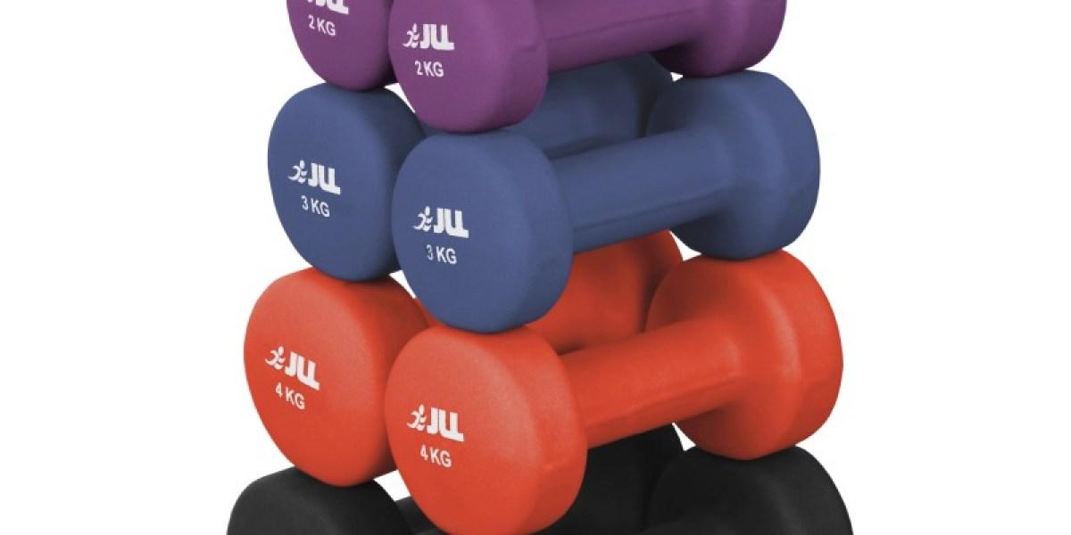 Jll Neoprene Coated Steel Dumbbells Jll Fitness